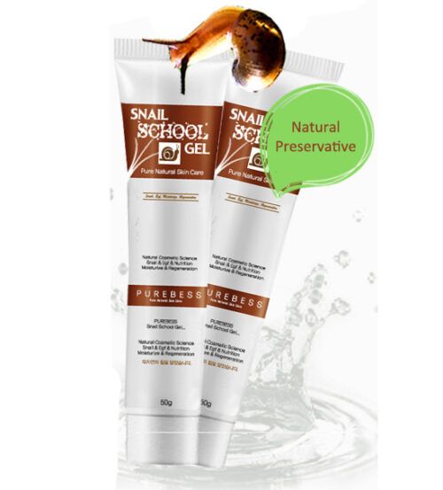 Гель для лица PUREBESS Snail School Gel