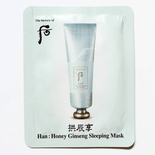 The History Of Whoo Han Honey Ginseng Sleeping Pack