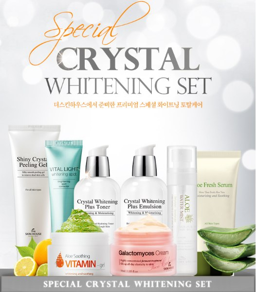 The skin house Crystal Whitening Set