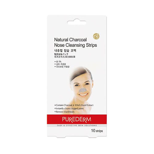 PUREDERM Natural Charcoal Nose Strips