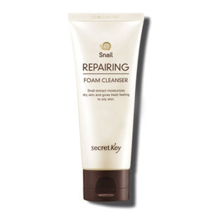 Secret Key Snail Repairing Foam Cleanser