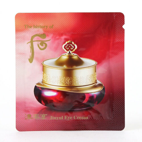 The history of Whoo Jinyul Eye Cream