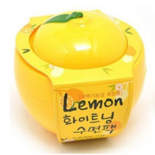 Baviphat Lemon Whitening sleeping Pack
