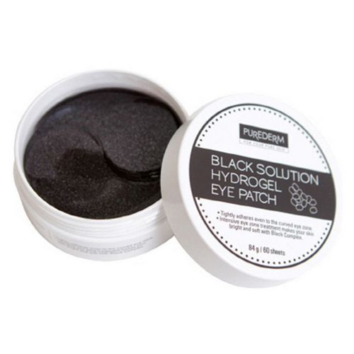 Purederm Black Solution Hydrogel Eye Patch