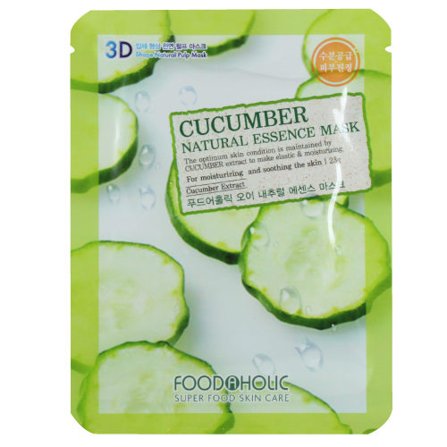 Food A Holic 3D Natural essence mask Cucumber