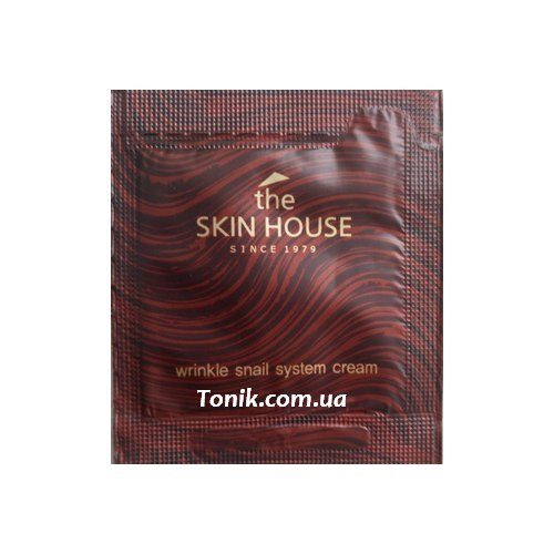 The Skin House Wrinkle Snail System Cream tester