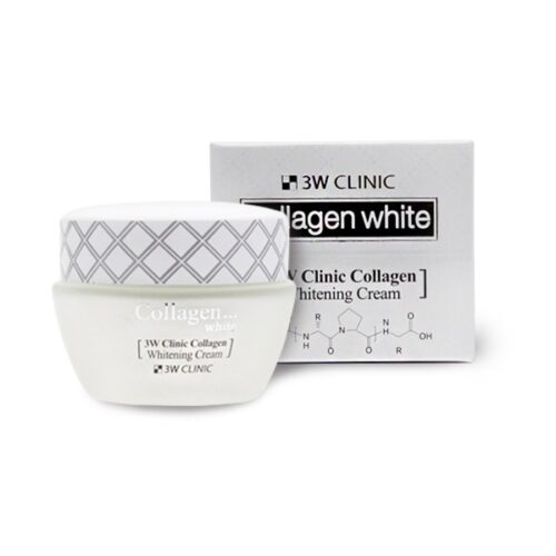 3W Clinic collagen white skin cream