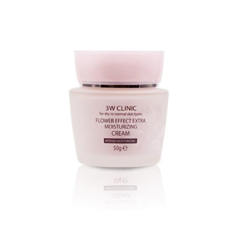 3w clinic flower effect cream