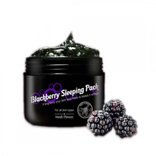Medi Flower Blackberry Sleeping Pack