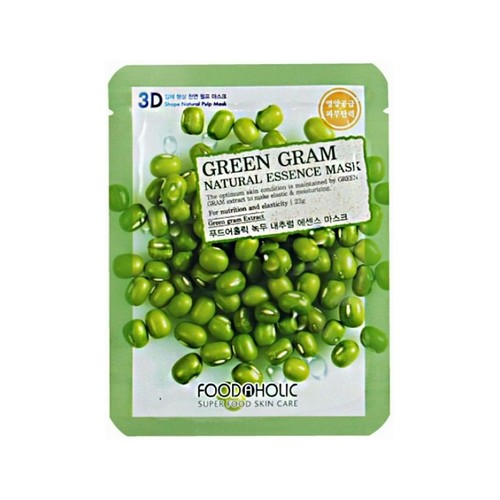 Food A Holic 3D Natural Essence Mask Green Gram