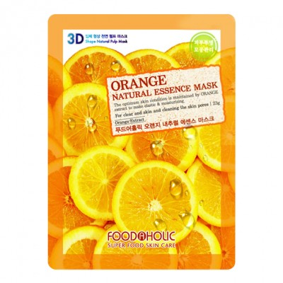 food a holic 3d natural essence mask orange