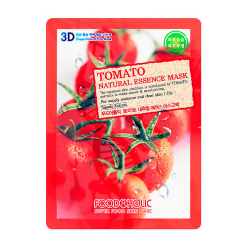 food a holic 3d natural essence mask tomato