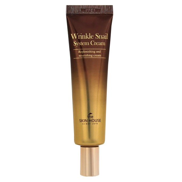 The Skin House Wrinkle Snail System Cream tube