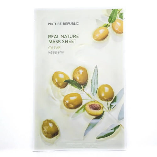 Nature Republic Mask Sheet Olive