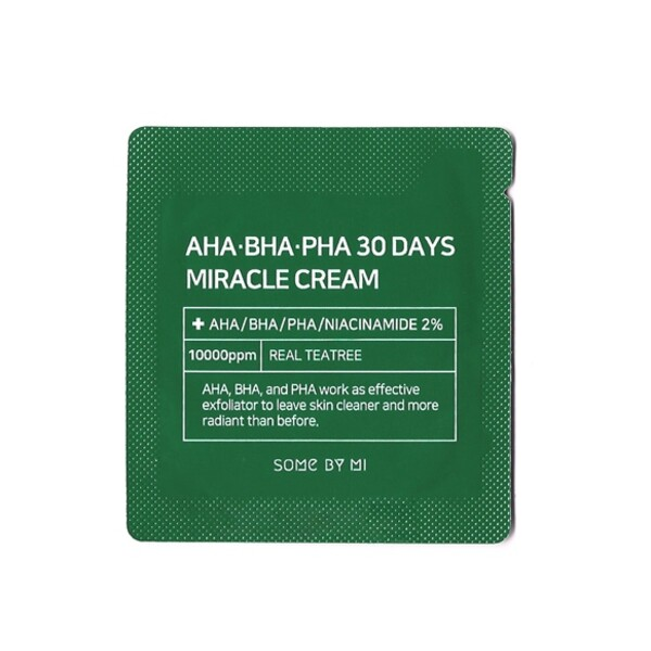 Some By Mi AHA-BHA-PHA 30 Days Miracle Cream Sample