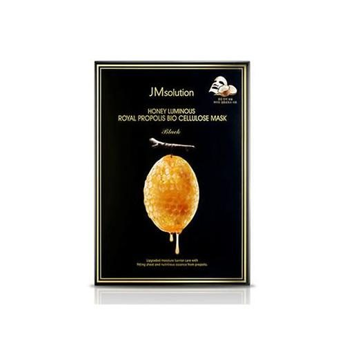 JM Solution Honey Luminous Royal Propolis Bio Cellulose Mask Black
