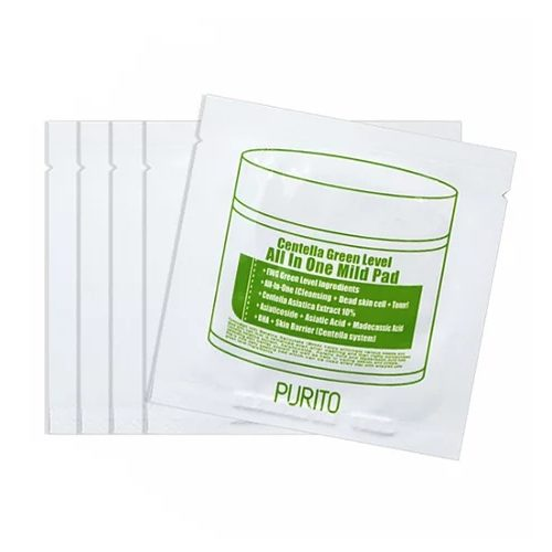 Purito Centella Green Level All In One Mild Pad Travel