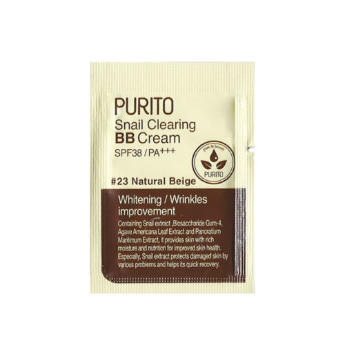 Purito Snail Clearing BB Cream SPF38 Sample