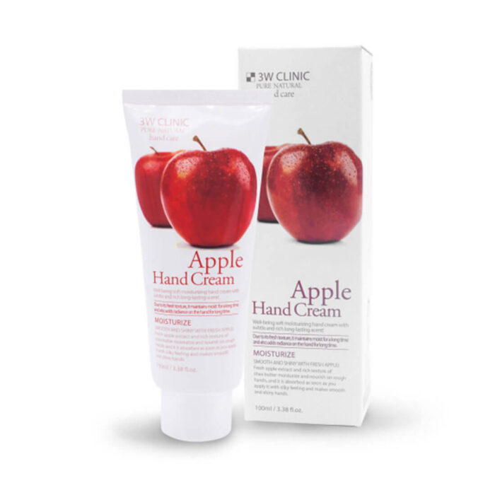3W Clinic Moisturizing Hand Cream Apple