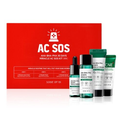 Somebymi AHA-BHA-PHA 30 Days Miracle AC SOS Kit