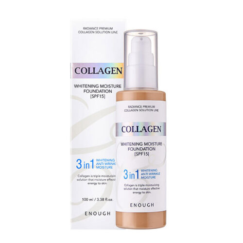Enough Collagen Whitening Moisture Foundation 3 in 1