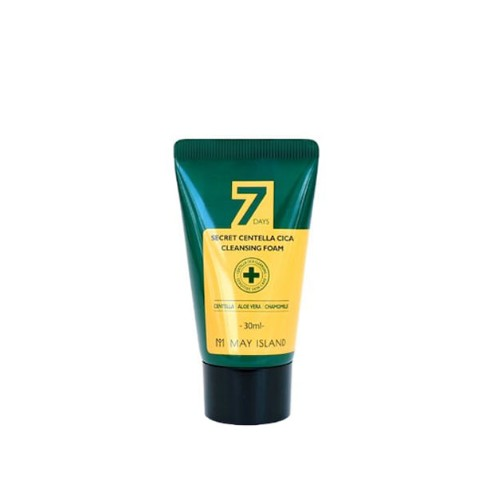 May Island 7 Days Secret Centella Cica Cleansing Foam 30 ml