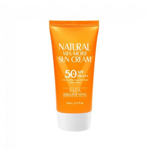 3W Clinic Natural Vita-Moist Sun Cream SPF50+ PA+++
